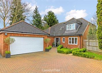 Thumbnail 4 bed detached house for sale in The Rise, St Albans, Hertfordshire