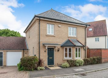 Thumbnail 3 bed link-detached house for sale in Firecrest Drive, Stowmarket