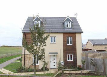 Thumbnail 4 bedroom end terrace house for sale in Warbler Road, Leighton Buzzard