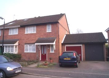 Thumbnail 3 bed semi-detached house to rent in Gladbeck Way, Enfield, Middx