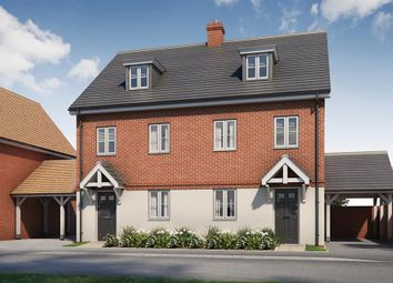 Thumbnail 3 bed terraced house for sale in Westbrook Place, Broadbridge Heath, West Sussex