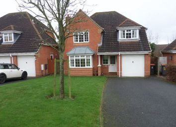 Thumbnail 4 bed detached house to rent in Hereford Drive, Priorslee, Telford