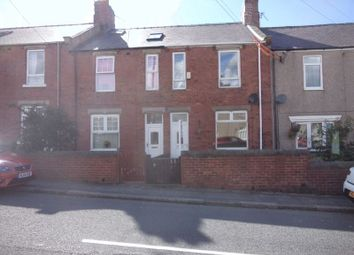 Thumbnail 3 bed terraced house to rent in East View, Sherburn Hill, Durham