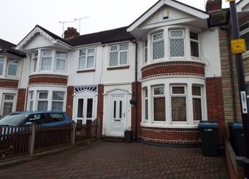 Thumbnail 3 bedroom terraced house to rent in Dartmouth Road CV2, Coventry