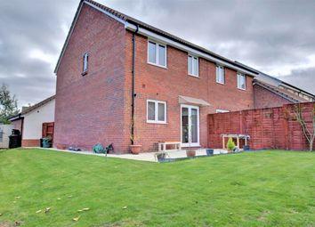 Thumbnail 3 bed semi-detached house for sale in Manston Close, Bowerhill, Melksham