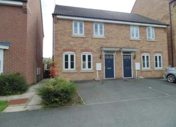Thumbnail 3 bed semi-detached house to rent in Thrush Close, Corby