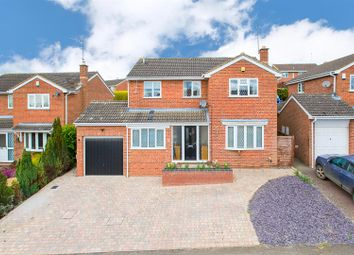Thumbnail 4 bedroom detached house for sale in Connolly Drive, Rothwell