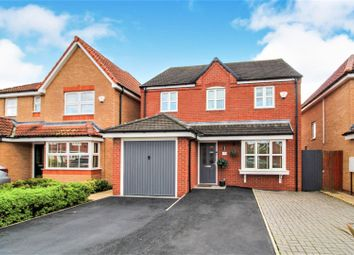 Thumbnail 4 bed detached house for sale in Wellman Avenue, Wrexham