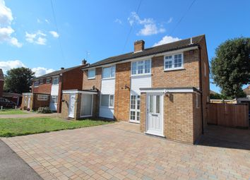 Thumbnail 3 bed semi-detached house for sale in Dukes Close, Ashford