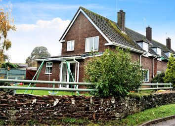 Thumbnail 3 bed semi-detached house for sale in Down St. Mary, Crediton