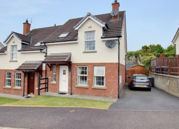 Thumbnail 3 bed semi-detached house for sale in Larksborough Avenue, Newtownards