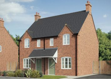 Thumbnail 2 bed semi-detached house for sale in Plot 7, Ashby, Southam Road, Kineton Mews, Kineton