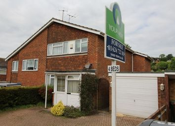 Thumbnail 4 bed semi-detached house for sale in Birch Way, Hastings
