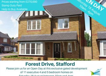 Thumbnail 4 bed detached house for sale in Forest Drive Development, Rickerscote Road, Stafford