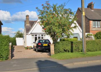 Thumbnail 3 bedroom bungalow for sale in Station Road, Bagworth, Coalville
