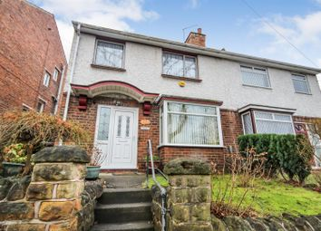 Thumbnail 3 bedroom semi-detached house for sale in Warren Avenue, Sherwood, Nottingham
