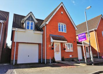 Thumbnail 3 bed link-detached house for sale in Woodruff Road, Thetford