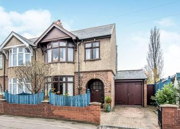 Thumbnail 3 bed semi-detached house for sale in Foster Road, Kempston, Bedford, Bedfordshire