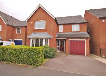 Thumbnail 4 bed detached house to rent in Paddock Way, Hinckley