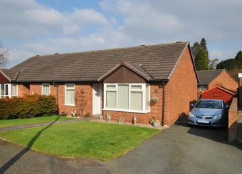 Thumbnail 2 bed semi-detached bungalow for sale in Carvers Close, Wellington, Telford, Shropshire