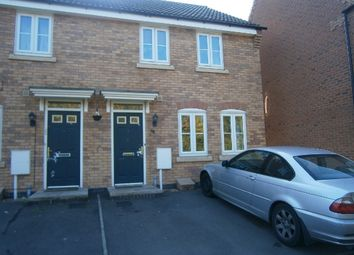 Thumbnail 3 bed semi-detached house to rent in Fieldfare Close, Oakley Vale, Corby