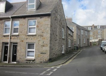 Thumbnail 3 bed end terrace house for sale in St. Dominic Street, Penzance