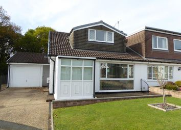 Thumbnail 2 bed semi-detached bungalow for sale in Darren Close, Rudry, Caerphilly