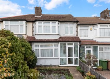 Thumbnail 3 bed terraced house for sale in Esher Avenue, North Cheam, Sutton