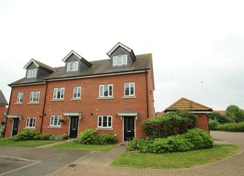 Thumbnail 3 bed town house for sale in Buzzard Rise, Stowmarket