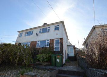 Thumbnail 3 bedroom semi-detached house to rent in Greenacres, Plymstock, Plymouth, Devon