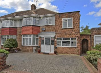 Thumbnail 4 bed semi-detached house for sale in Nutfield Gardens, Northolt