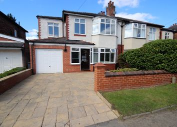 Thumbnail 5 bedroom semi-detached house for sale in Lambton Road, Worsley, Manchester