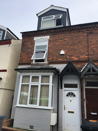 Thumbnail 6 bed terraced house to rent in Heeley Road, Birmingham