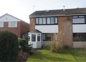 Thumbnail 3 bed semi-detached house for sale in Vicarage Close, Dukinfield