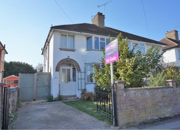 Thumbnail 3 bedroom semi-detached house for sale in Liddell Road, Oxford