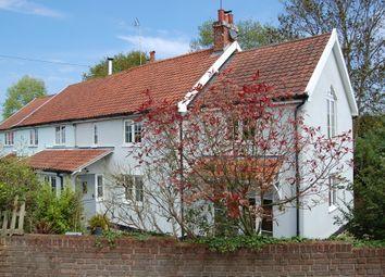 Thumbnail 3 bed semi-detached house for sale in Bushy Lane, Hollesley, Woodbridge