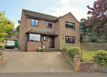 Thumbnail 4 bed detached house for sale in The Heights, Fareham