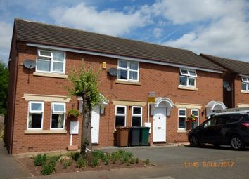 Thumbnail 2 bed town house to rent in Bramble Walk, Overseal, Swadlincote