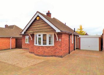 Thumbnail 2 bed bungalow for sale in Wellgate Avenue, Birstall, Leicester