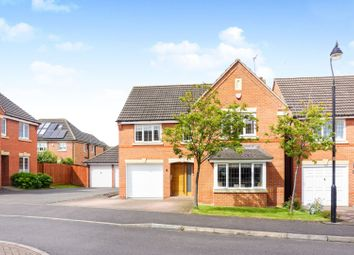 Thumbnail 5 bed detached house for sale in The Glades, Northampton
