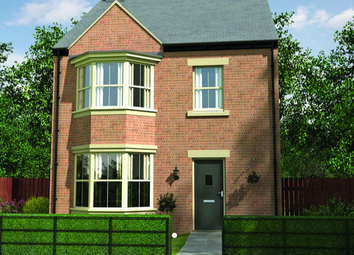 Thumbnail 4 bedroom detached house for sale in The Iris, Front Street, Longframlington, Northumberland