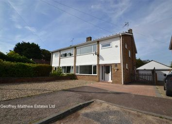 Thumbnail 3 bed semi-detached house for sale in Orchard Close, Sheering, Essex