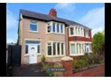 Thumbnail 3 bed semi-detached house to rent in Warbreck Drive, Blackpool
