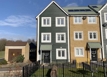 Thumbnail 3 bed town house for sale in Boyce Road, Church Crookham, Fleet