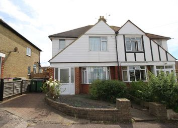 Thumbnail 3 bed semi-detached house for sale in Joyes Close, Folkestone