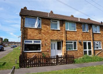 Thumbnail 3 bed end terrace house for sale in Rosemary Close, Chatham