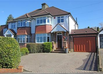 Thumbnail 3 bed semi-detached house for sale in Sundown Avenue, Sanderstead, South Croydon