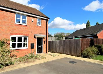 Thumbnail 3 bed semi-detached house for sale in Raffles Place, Long Lawford, Rugby