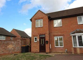 Thumbnail 3 bed end terrace house to rent in Odin Close, Bedford