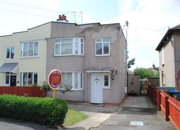 Thumbnail 3 bed semi-detached house for sale in Foxgrove Avenue, Kingsthorpe, Northampton